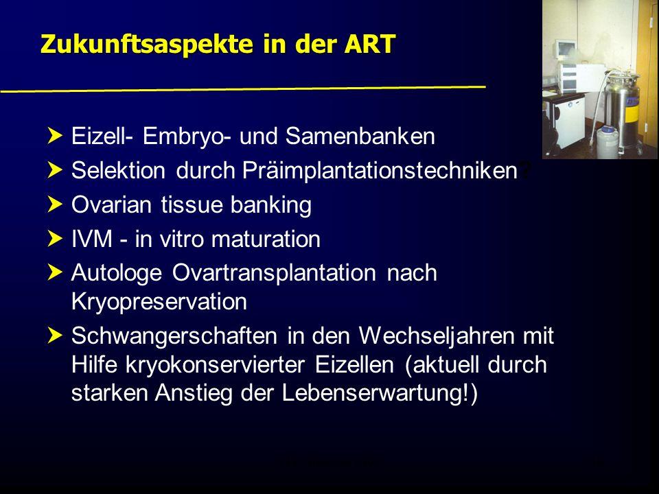 FIS - Pissouri 200848  Eizell- Embryo- und Samenbanken  Selektion durch Präimplantationstechniken?  Ovarian tissue banking  IVM - in vitro maturat