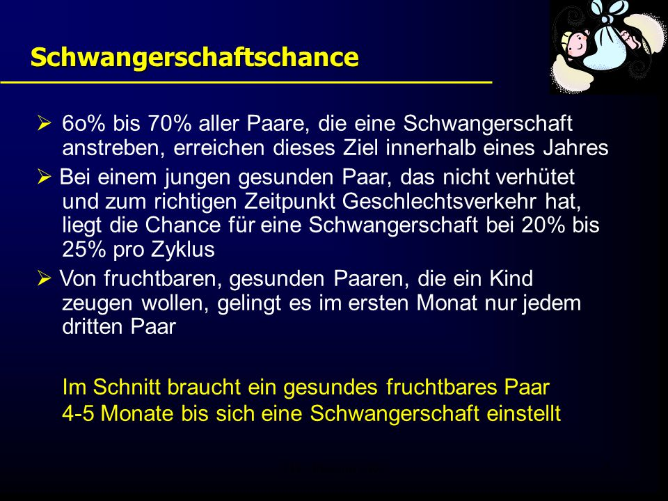 FIS - Pissouri 200846 Reproduktionsgenetik * Männer vor ICSI -Therapie ** z.B.