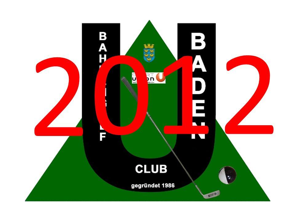 Clubmeisterschaft UBGC Baden 1.Pacher August 2.Schöller Manfred 3.Bücker Bernhard