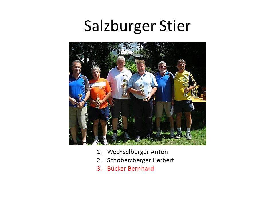 Salzburger Stier 1.Wechselberger Anton 2.Schobersberger Herbert 3.Bücker Bernhard