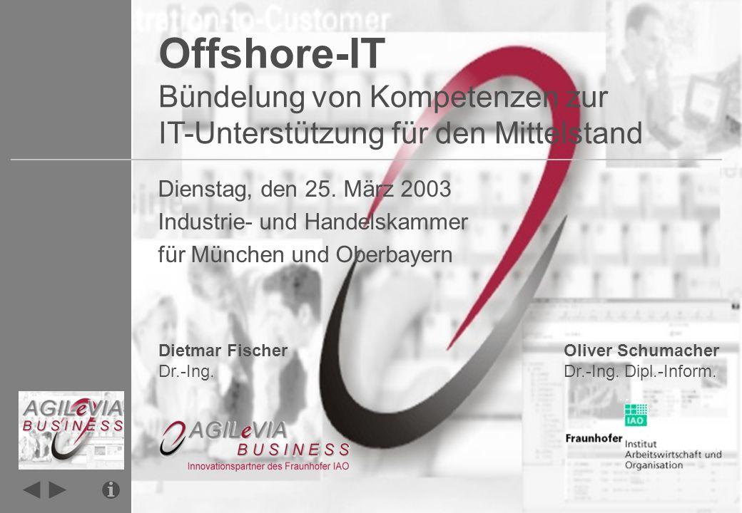 Infoseite Infoseite [CoE.AGILeVIA.de] Das Fraunhofer Institut für Arbeitswirtschaft und Organisation IAO beschäftigt sich mit aktuellen Fragestellungen im Bereich des Technologiemanagements.