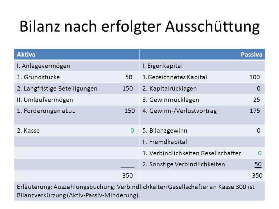 Bilanz und GuV am Beispiel einer GmbH (in sehr vereinfachter Form) Ausgangspunkt: § 238 HGB 1.