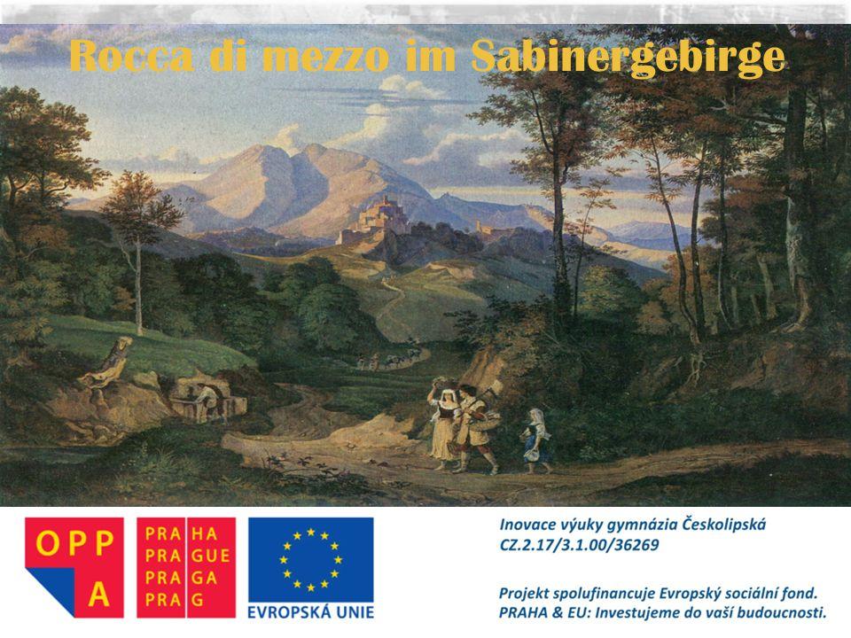 Rocca di mezzo im Sabinergebirge