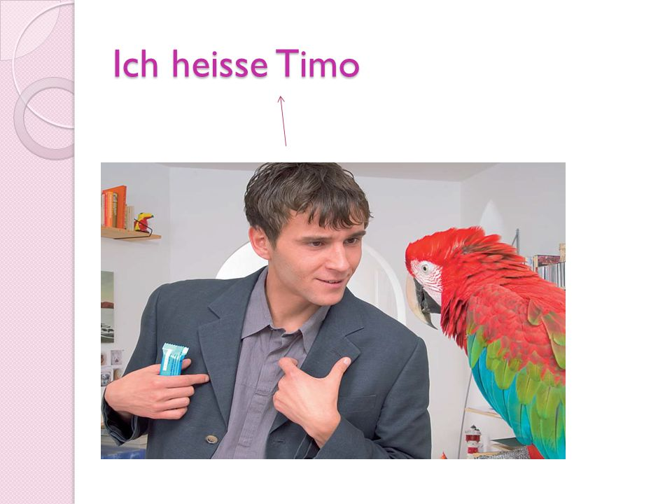 Ich heisse Timo