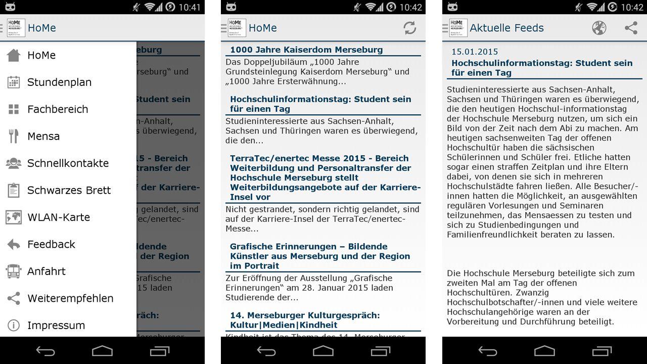 Aktueller Arbeitsstand und Ausblick 21.01.2015Stud.IP in Merseburg11