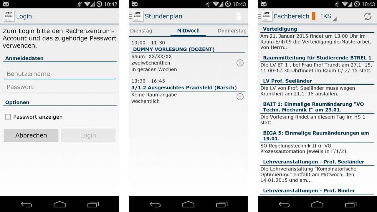 Aktueller Arbeitsstand und Ausblick 21.01.2015Stud.IP in Merseburg12