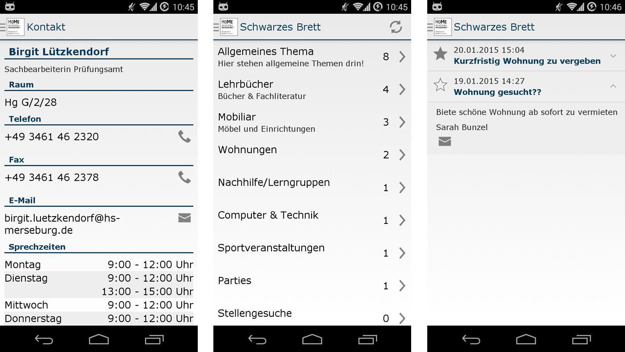 Aktueller Arbeitsstand und Ausblick 21.01.2015Stud.IP in Merseburg14