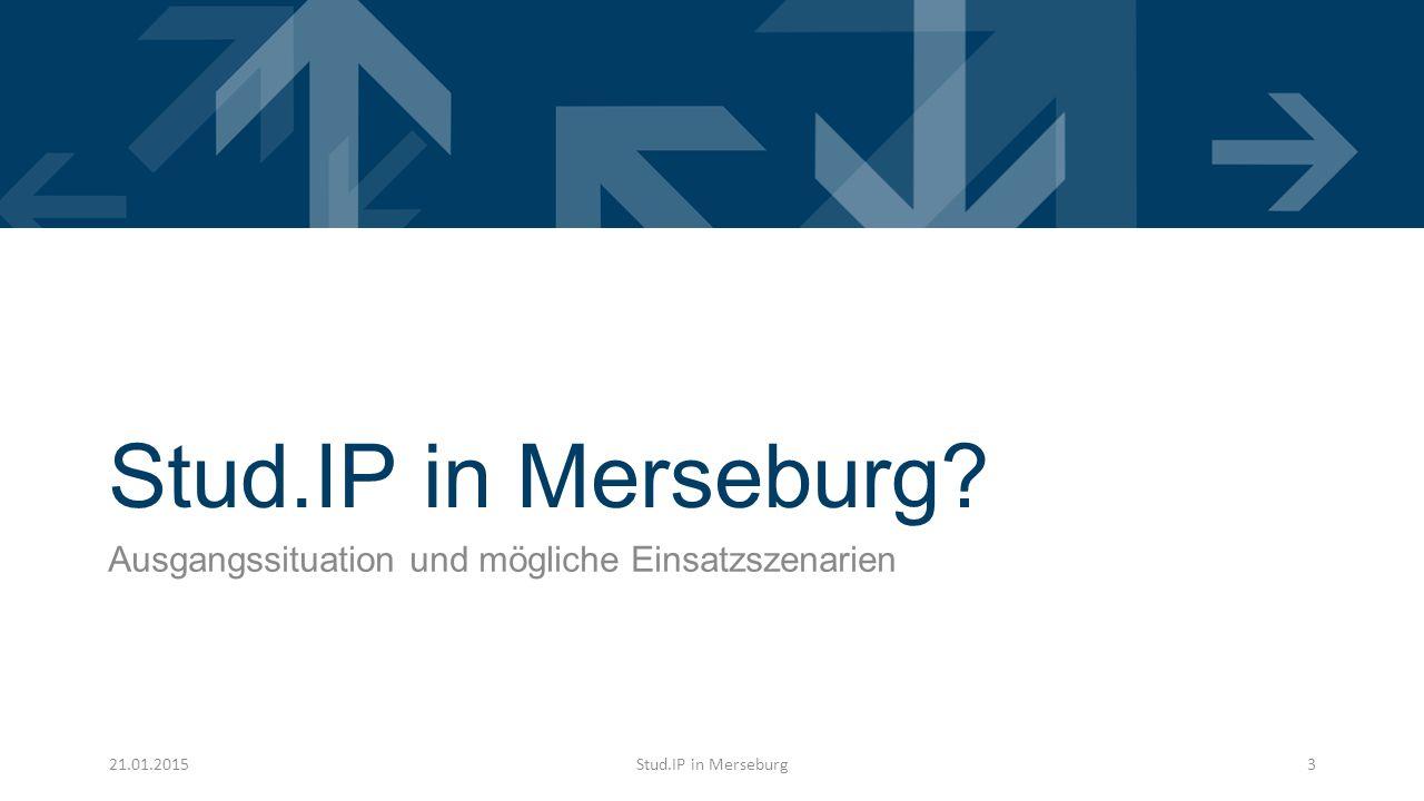 Stud.IP in Merseburg.