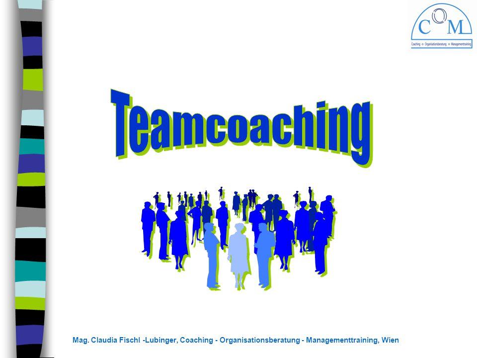 Mag. Claudia Fischl -Lubinger, Coaching - Organisationsberatung - Managementtraining, Wien