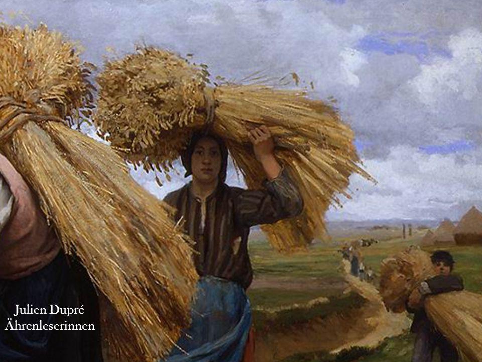 Georges Laugee Einfahren des Getreides