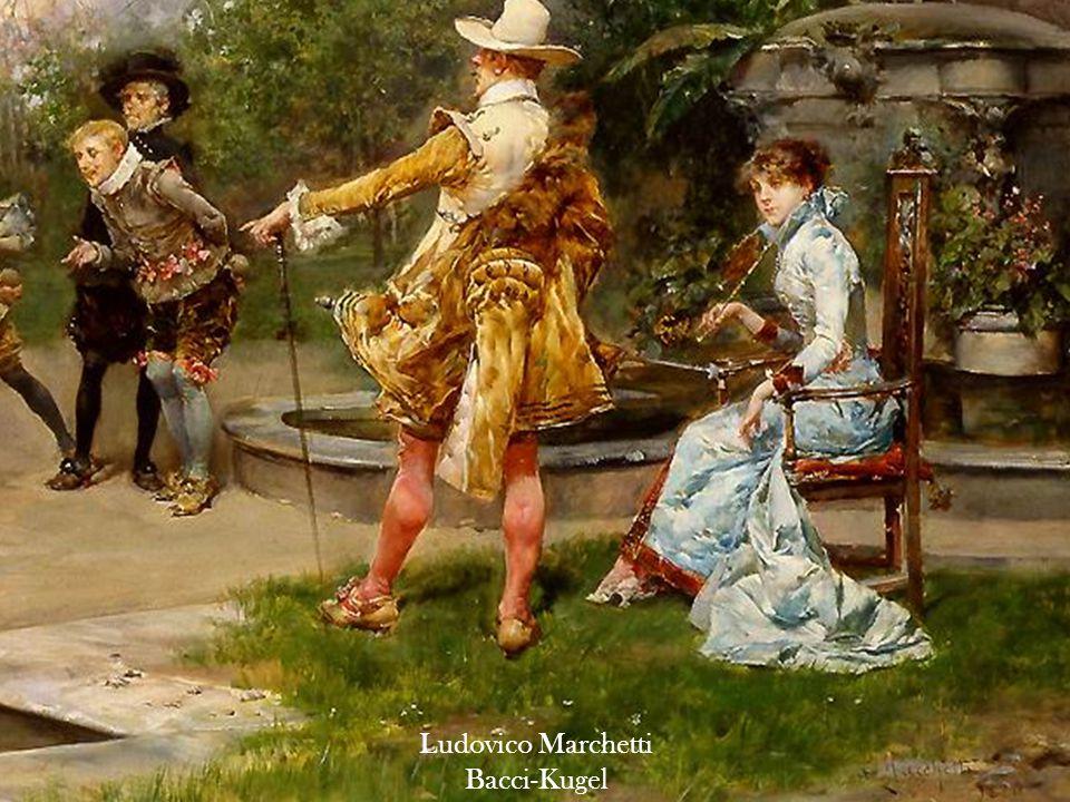 Leon Perrault Drei Mädchen in der Nähstube