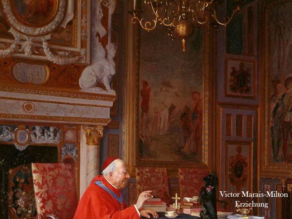 Victor Marais-Milton Kardinal liest ein Papier