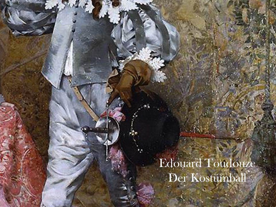 Edouard Toudouze Der Kostümball