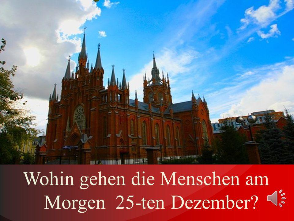Welche Weihnachtslieder singen die Deutschen in dieser heiligen Zeit?