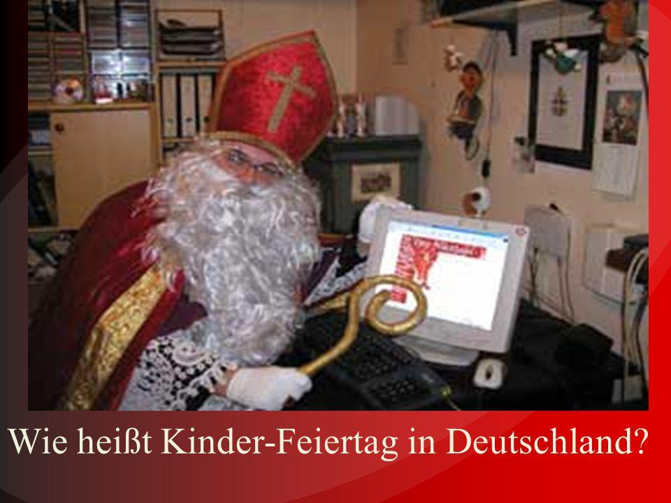 Weihnachtliches Deutschland