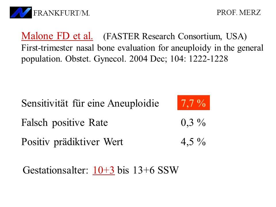 PROF.MERZ FRANKFURT/M.