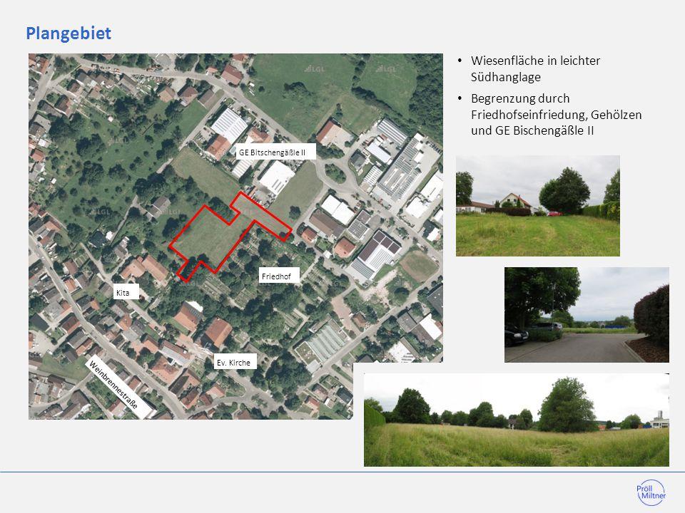 Flächennutzungsplan, Lageplan Fläche im FNP als Erweiterung Friedhof dargestellt.