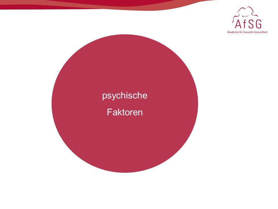 psychische Faktoren