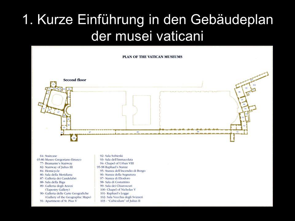 2.Aus welchen Gegenständen besteht die Sammlung Anfang des 16.