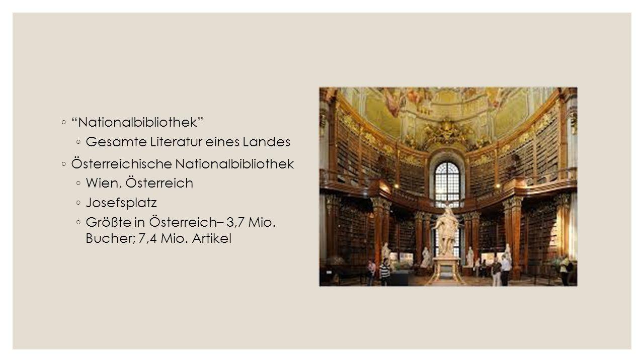 Gesichte ◦ Anfange – Mittelalter ◦ Schatz – Herzog Albrecht III ◦ Ältestes Buch – 1368 ◦ Auch: älteste Buch der Bibel ◦ Am besten erhaltenen