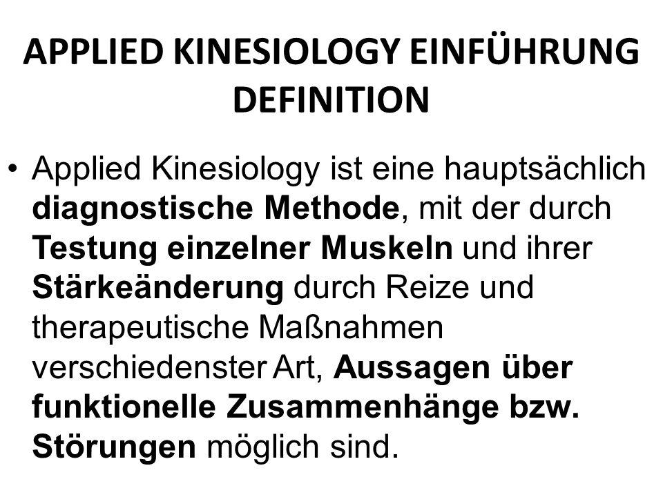 Sedierung durch Approximation - Annäherung der Muskelspindel im Muskelbauch.