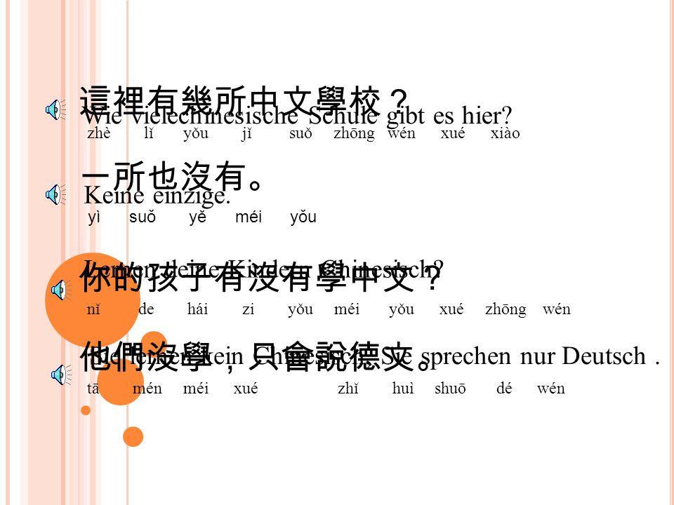 你有多少本書? nǐ yǒu duō shăo běn shū Wie viele Bücher hast du? 我有一萬多本。 wǒ yǒu yí wàn duō běn 你的書真多。 nǐ de shū zhēn duō 是啊,我的書不少。 shì a wǒ de shū bù shăo Ic