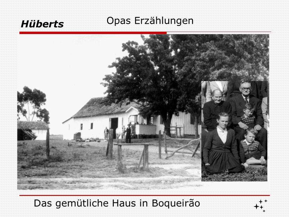 Hüberts Und, wie Goethe gesagt hat : Lehren aus der Familiengeschichte Die Eigenschaften, die man geerbt hat, erwerbe man um sie zu besitzen .