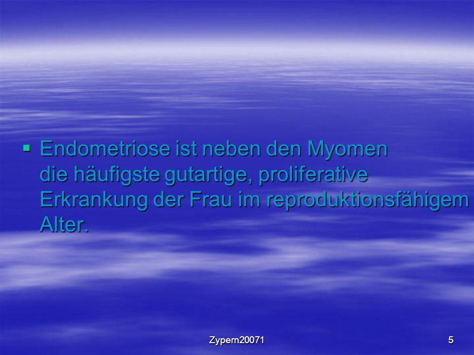 Zypern2007156 Messung von CA 125 bei Endometriose oKeine Früherkennung möglich.