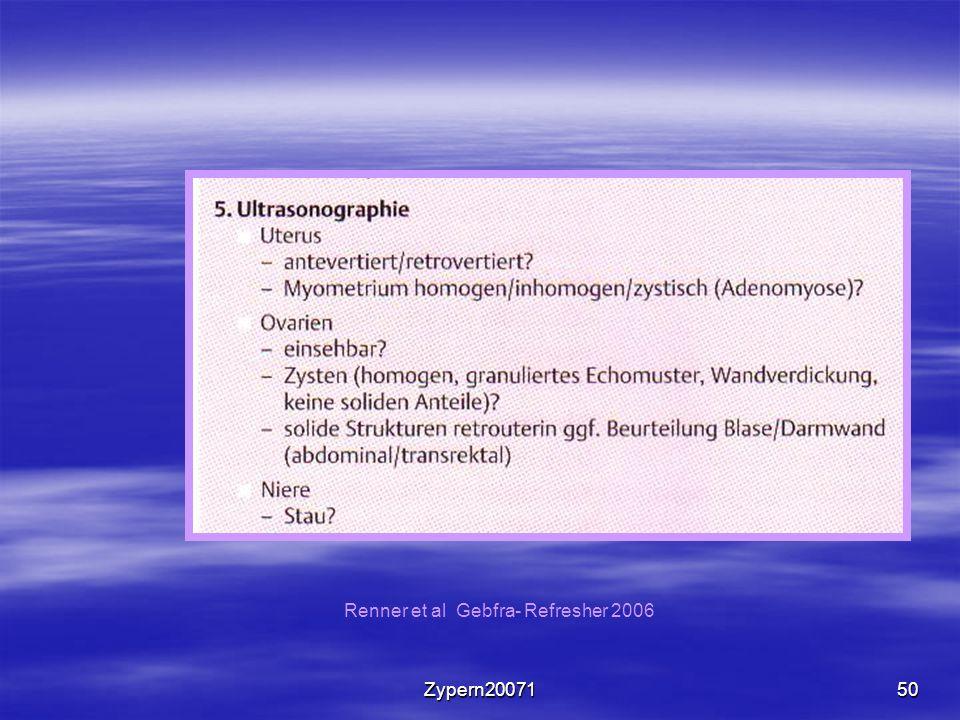 Zypern2007150 Renner et al Gebfra- Refresher 2006