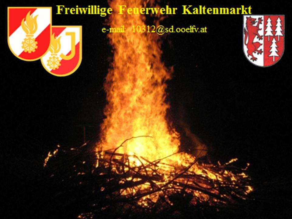 Freiwillige Feuerwehr Kaltenmarkt e-mail: 10312@sd.ooelfv.at