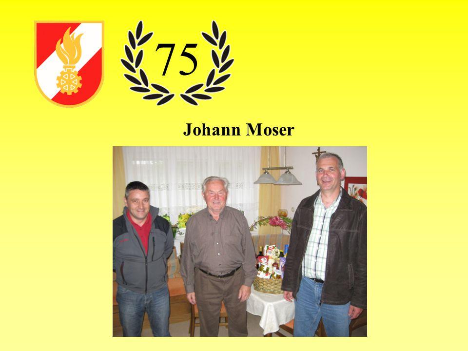 Johann Moser 75