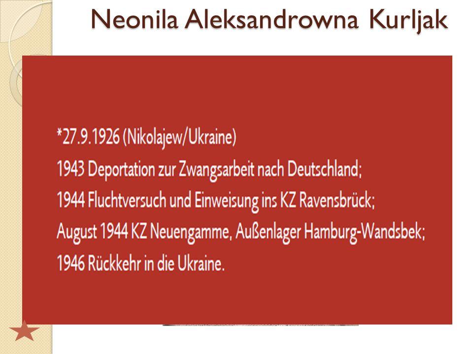 Neonila Aleksandrowna Kurljak