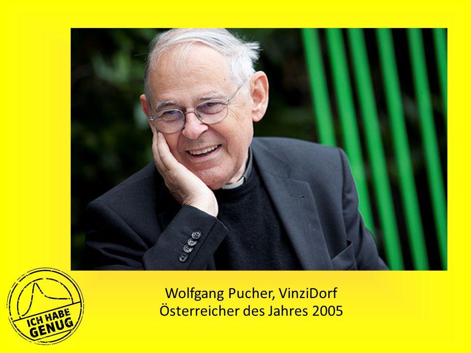 Wolfgang Pucher, VinziDorf Österreicher des Jahres 2005