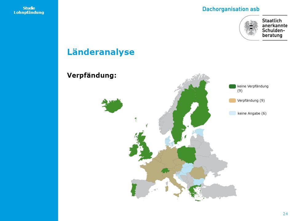 24 Studie Lohnpfändung Länderanalyse Verpfändung: