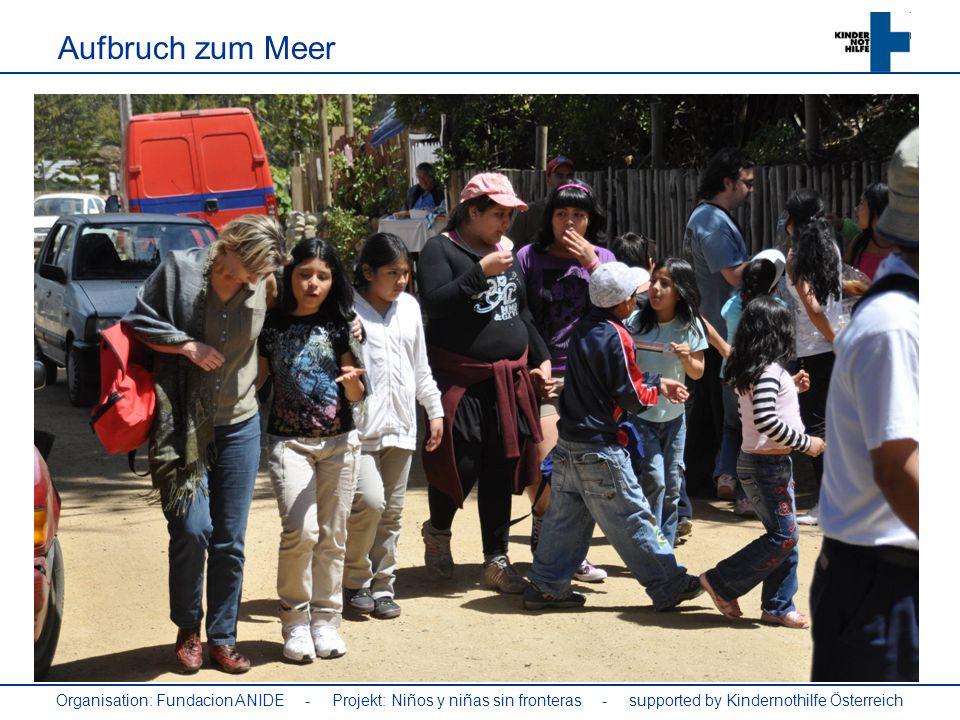 Organisation: Fundacion ANIDE - Projekt: Niños y niñas sin fronteras - supported by Kindernothilfe Österreich El Grupo