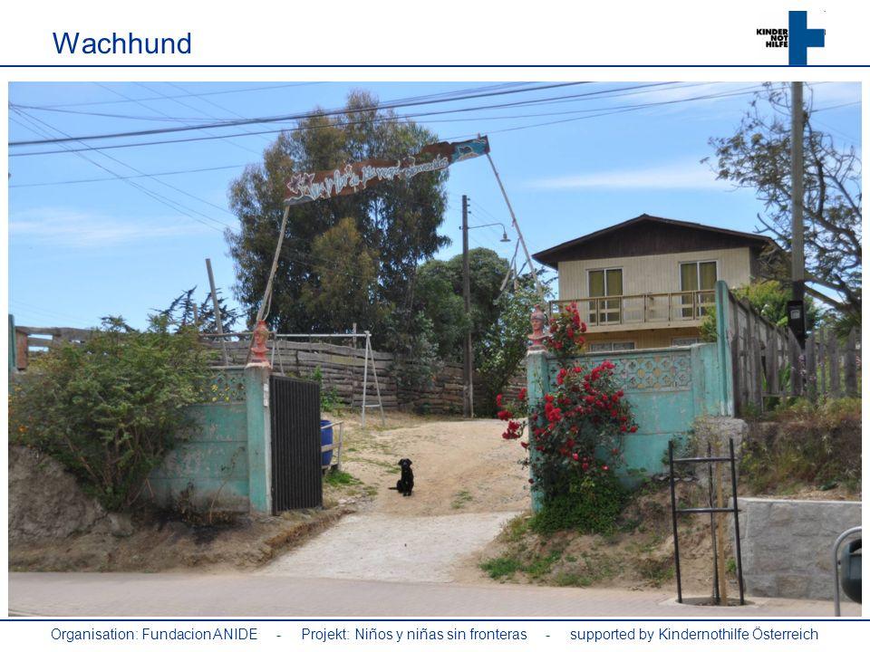 Organisation: Fundacion ANIDE - Projekt: Niños y niñas sin fronteras - supported by Kindernothilfe Österreich Wachhund