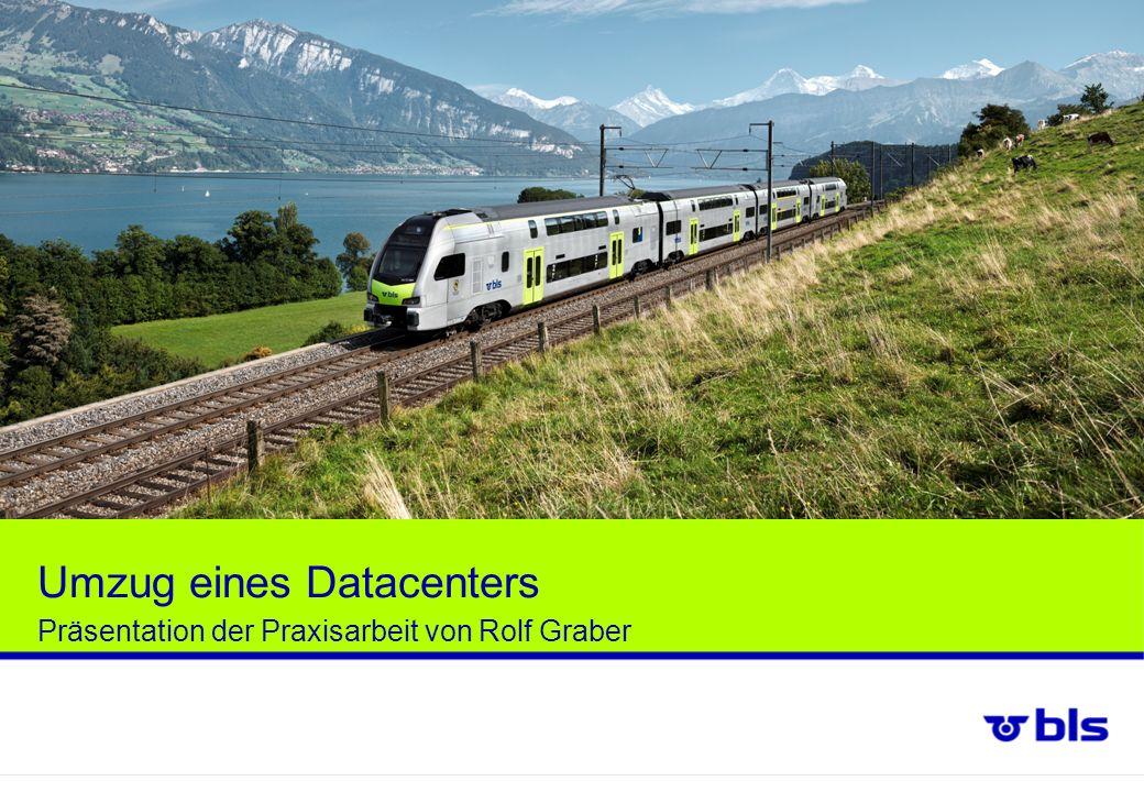 Umzug eines Datacenters Präsentation der Praxisarbeit von Rolf Graber