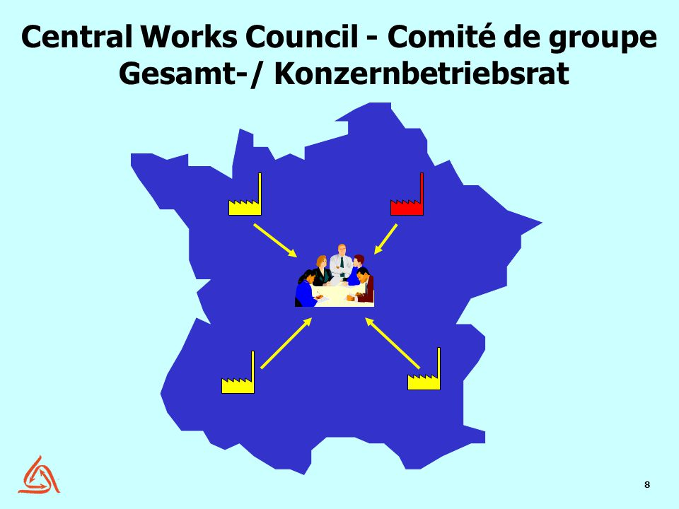 8 Central Works Council - Comité de groupe Gesamt-/ Konzernbetriebsrat