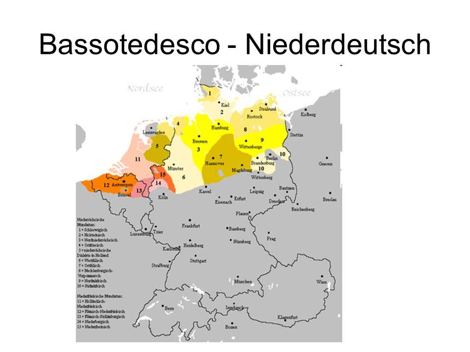 Bassotedesco - Niederdeutsch