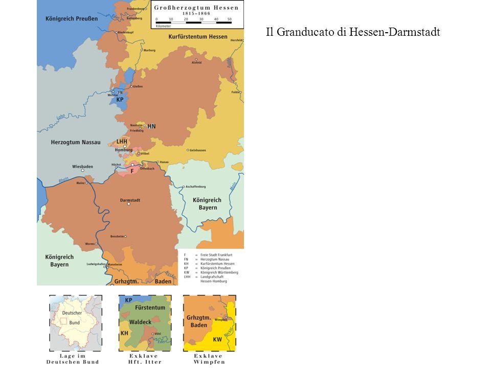 Il Granducato di Hessen-Darmstadt