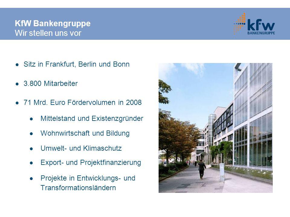 Ein Beispiel aus der Praxis Sanierung eines alten Betriebsgebäudes Investitionsplan Initialberatungskosten Detailberatungskosten Sanierungskosten Summe EUR 1.000 5.000 75.000 81.000 Finanzierungsplan Beratungskostenzuschuss Eigenanteil Beratungskosten ERP-Umwelt- und Energieeffizienzprogramm Summe EUR 3.800 2.200 75.000 81.000