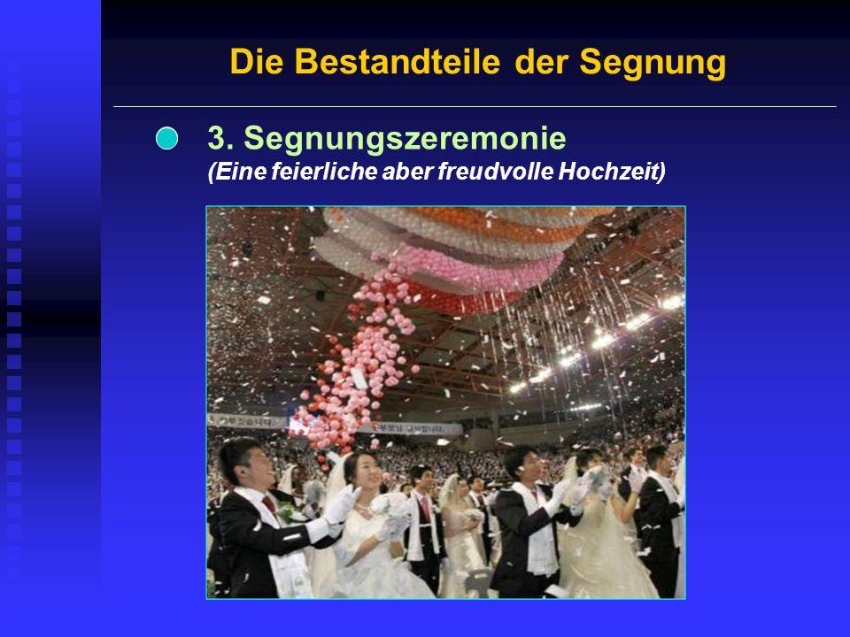 Die Segnungszeremonie Besprenkeln mit Heiligem Wasser Rezitation der Eheversprechen Austausch von Ringen Segnungsgebet