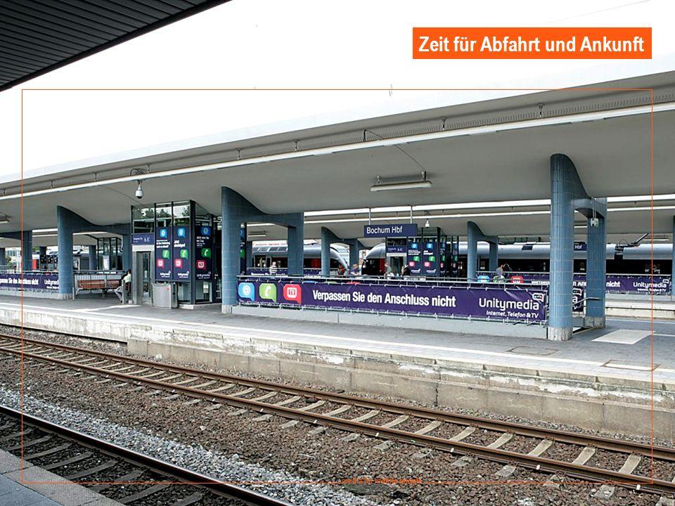 13 media for mobile people Ströer DERG Media - September 2008 media for mobile people Zeit für Abfahrt und Ankunft