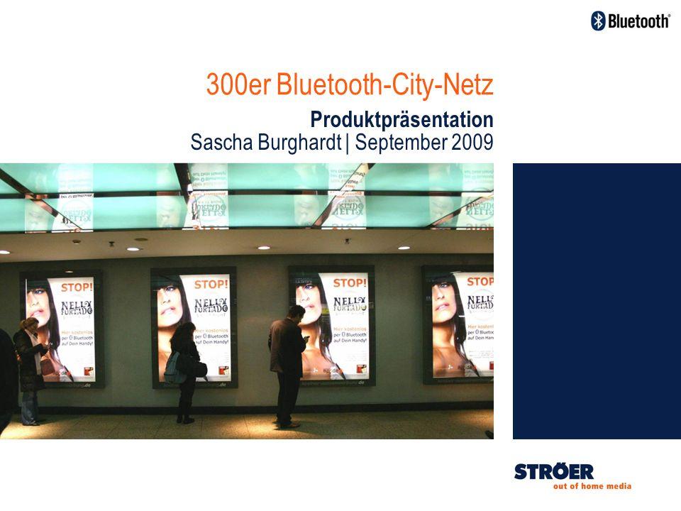 300er Bluetooth-City-Netz Produktpräsentation Sascha Burghardt | September 2009