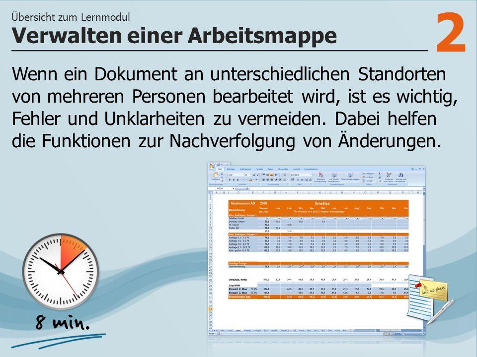 2 Wenn ein Dokument an unterschiedlichen Standorten von mehreren Personen bearbeitet wird, ist es wichtig, Fehler und Unklarheiten zu vermeiden.