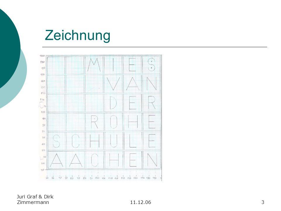 Juri Graf & Dirk Zimmermann11.12.063 Zeichnung