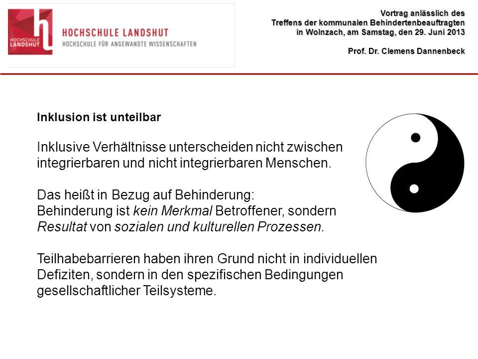 Vortrag anlässlich des Treffens der kommunalen Behindertenbeauftragten in Wolnzach, am Samstag, den 29.