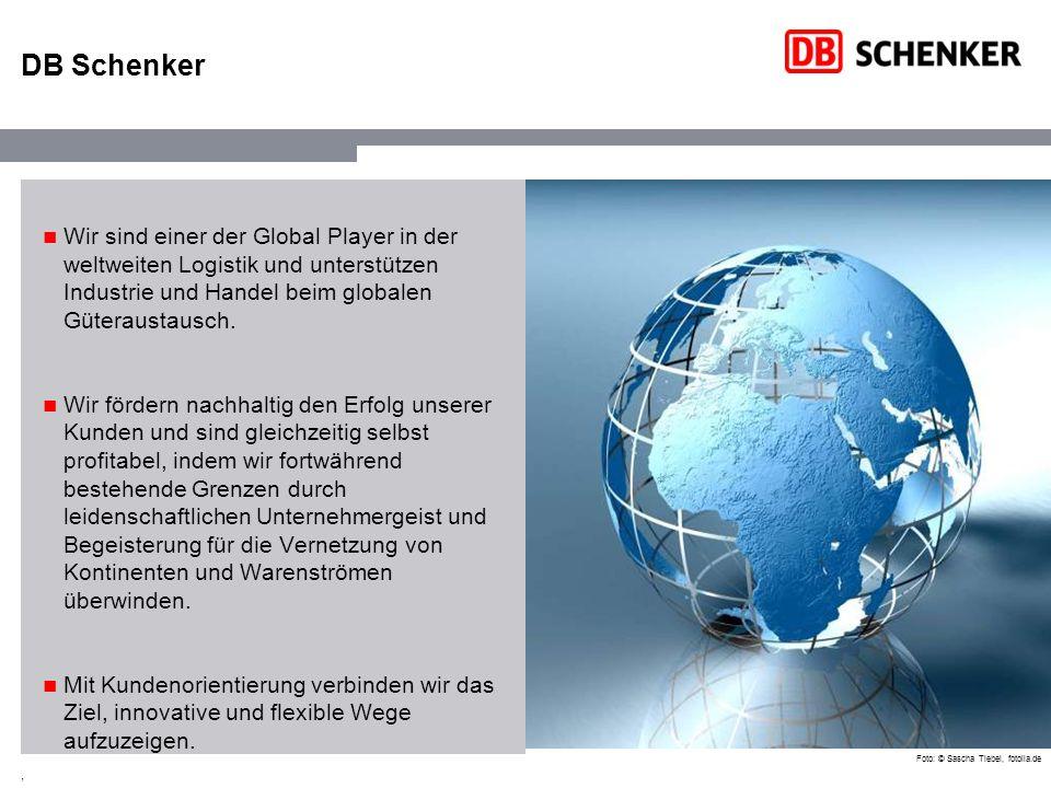 , Für DB Schenker war 2008 ein sehr erfolgreiches Jahr Mitarbeiterangaben: Vollzeitkräfte Durchschnittsbestand Quelle: Geschäftsbericht 2008 DB Schenker – 2008 Außenumsatz (Mrd.) Mitarbeiter (Tsd.) 91,3 Region West 4,65 (+19,2%) 29,2 Mitarbeiter (Tsd.) Außenumsatz (Mrd.