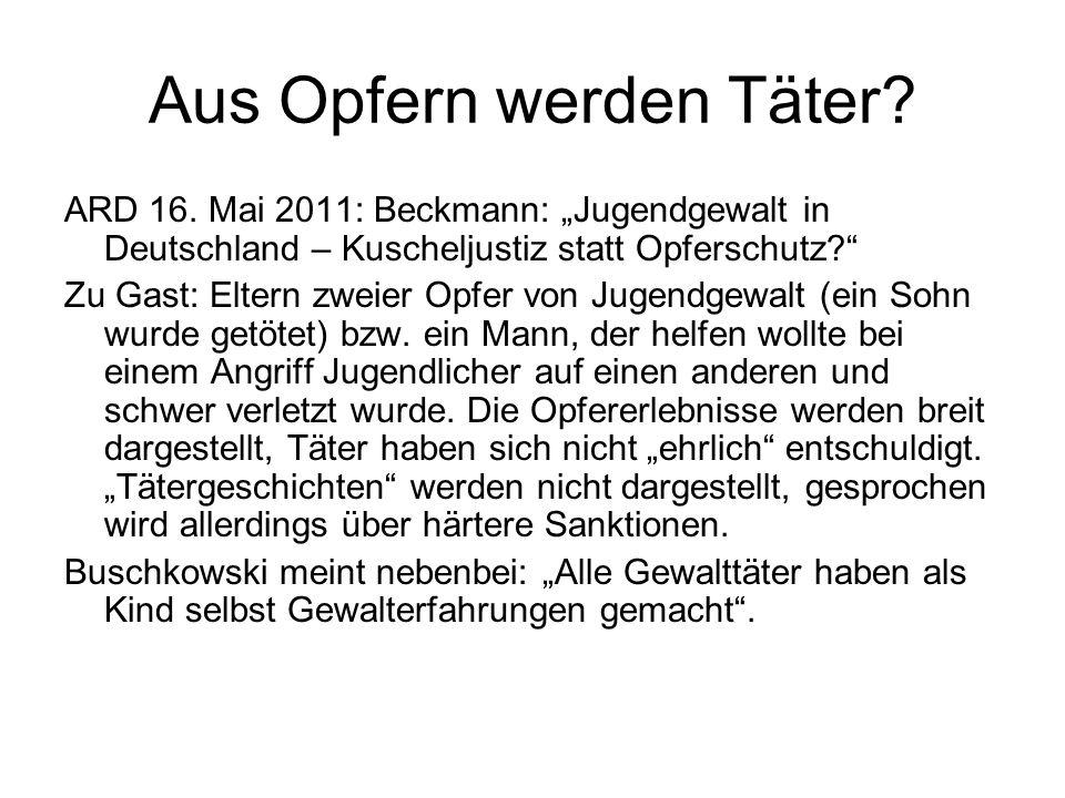 Powerpoint Scheurer über Therapie im Strafvollzug (23. 2. 2011)