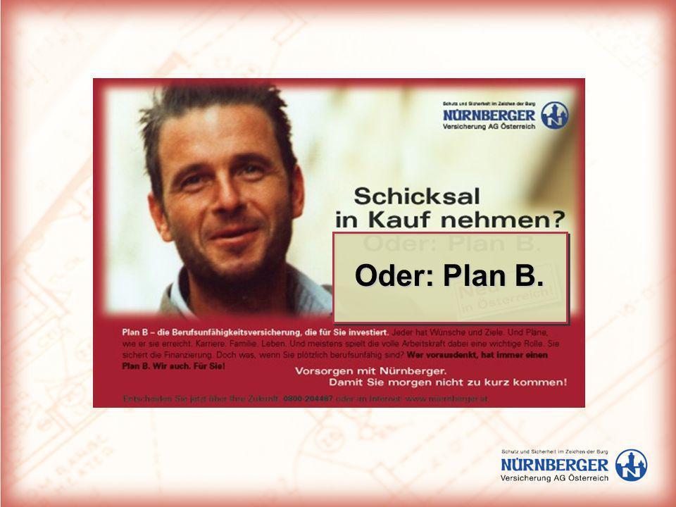 Oder: Plan B.